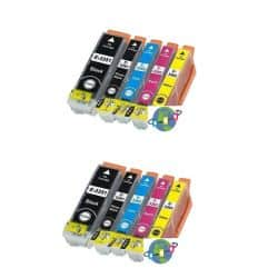 Pack 10 Cartouches T3357 compatible Epson - T33XL Orange