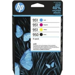 Pack 4 cartouches HP-950 / 951 - 4 Couleurs