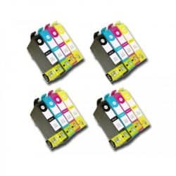 Pack 16 Cartouches T1636 compatible Epson - T16XL Stylo Plume